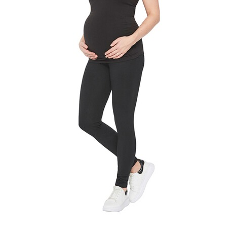 MAMALICIOUS®2er-Pack Umstands-Leggings Organic Cotton 3