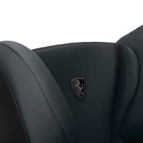 CybexGOLDSolution S-Fix Kindersitz Scuderia Ferrari  Victory Black 6