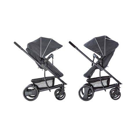 HauckPacific 4 Kombikinderwagen  Melange Charcoal 13