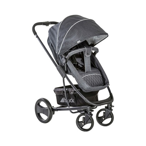 HauckPacific 4 Kombikinderwagen  Melange Charcoal 10