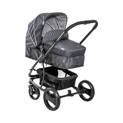 HauckPacific 4 Kombikinderwagen  Melange Charcoal 3