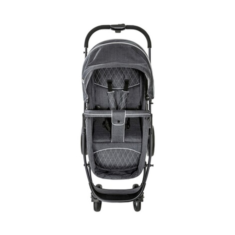 HauckPacific 4 Kombikinderwagen  Melange Charcoal 19