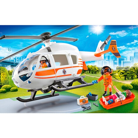Playmobil®CITY LIFE70048 Rettungshelikopter 3