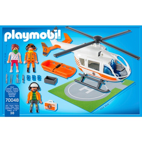 Playmobil®CITY LIFE70048 Rettungshelikopter 4