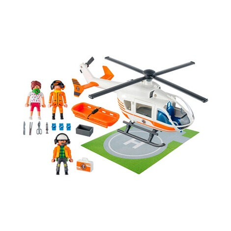 Playmobil®CITY LIFE70048 Rettungshelikopter 2