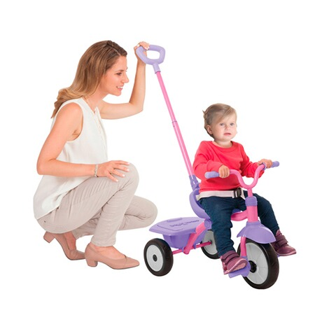 smarTrikeDreirad Folding Fun  pink 4
