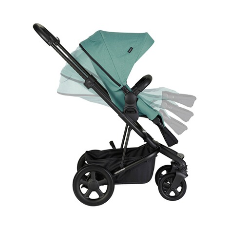 EasywalkerHarvey² Kinderwagen  coral green 5