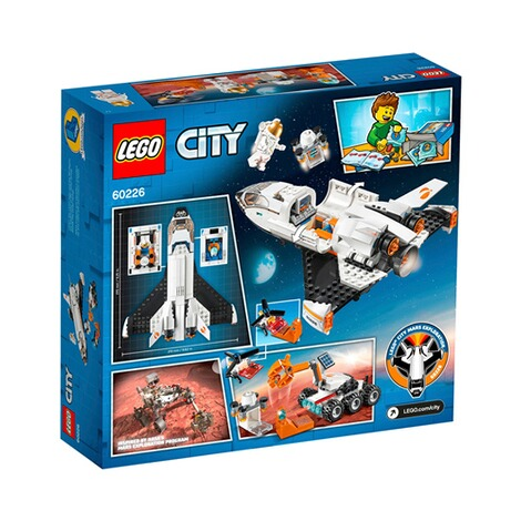 LEGO®CITY60226 Mars-Forschungsshuttle 4