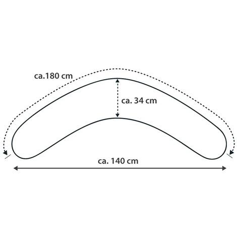 Theraline Das Komfort Stillkissen 180 cm inkl Bezug Jersey rot NEU