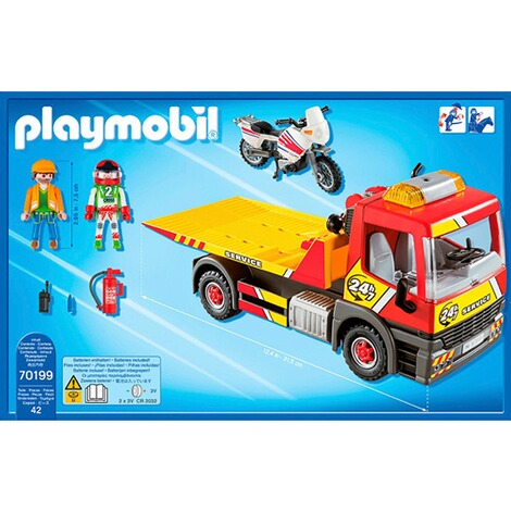 Playmobil®CITY LIFE70199 Abschleppdienst 4