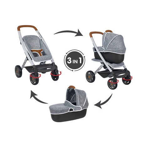 SmobyPuppenwagen Quinny 3in1 2