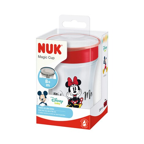 NUKDISNEY MICKEY MOUSE & FRIENDSTrinklernbecher Magic Cup 230 ml  rot 4