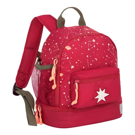LässigKindergartenrucksack Mini Backpack Magic Bliss  dunkelrot 1