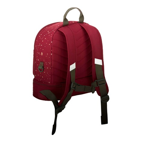 LässigKindergartenrucksack Mini Backpack Magic Bliss  dunkelrot 9