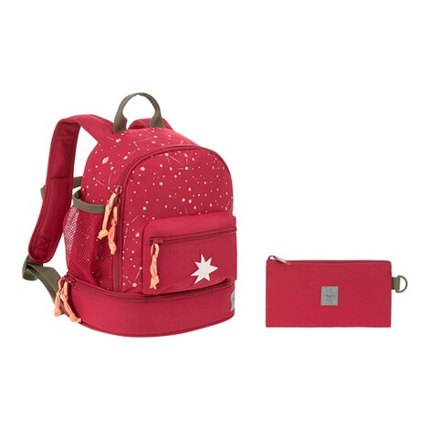 LässigKindergartenrucksack Mini Backpack Magic Bliss  dunkelrot 12