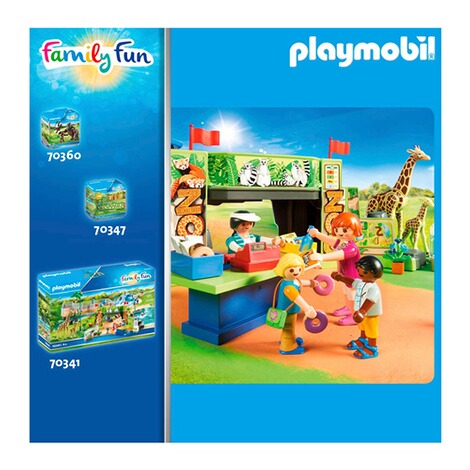 Playmobil®FAMILY FUN70357 Nashorn mit Baby 3
