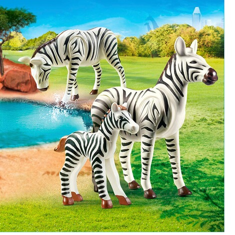 Playmobil®FAMILY FUN70356 2 Zebras mit Baby 2