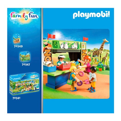 Playmobil®FAMILY FUN70356 2 Zebras mit Baby 3