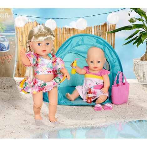 Zapf CreationBABY BORNPuppen Strand Set Holiday 5