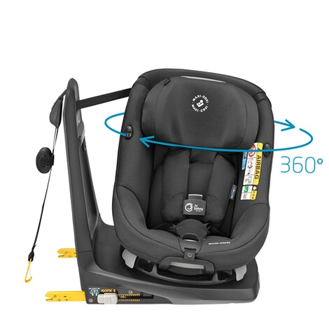 Maxi-CosiAxissfix Air i-Size Kindersitz  authentic black 1