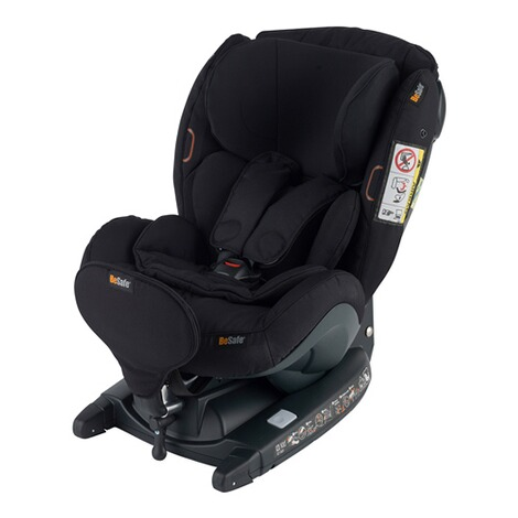 BeSafeiZi Kid X3 i-Size Kindersitz  fresh black cab 4