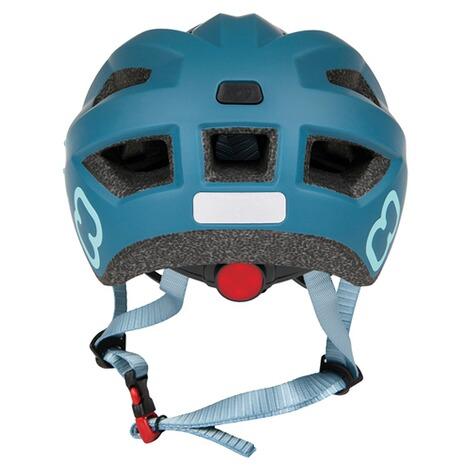 hamaxFahrradhelm Flow with rear light  blue/turquoise 5