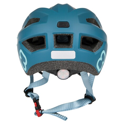 hamaxFahrradhelm Flow with rear light  blue/turquoise 4