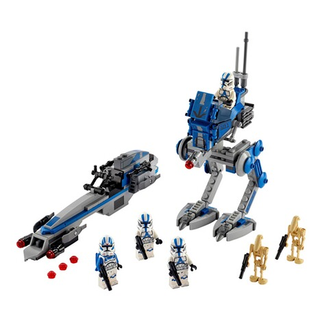 LEGO®STAR WARS™75280 Clone Troopers™ der 501. Legion™ 2