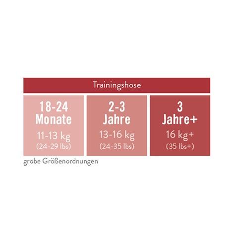 18-24 monate t/öpfchen-trainingshose Bambino Mio kuhweide