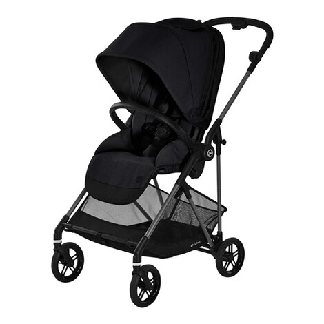 CybexGOLDMelio Carbon Buggy mit Liegefunktion  deep black 1