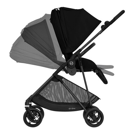 CybexGOLDMelio Carbon Buggy mit Liegefunktion  deep black 3