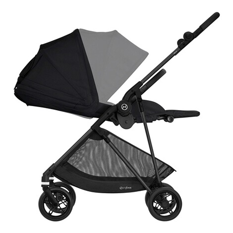 CybexGOLDMelio Carbon Buggy mit Liegefunktion  deep black 4