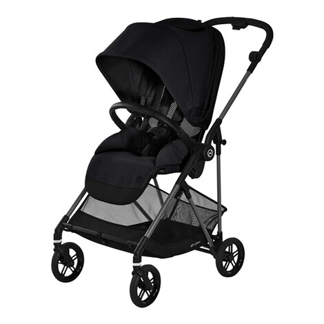 CybexGOLDMelio Carbon Buggy mit Liegefunktion  deep black 2