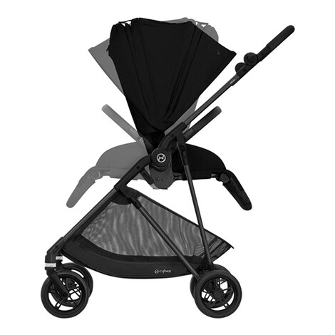 CybexGOLDMelio Carbon Buggy mit Liegefunktion  deep black 5