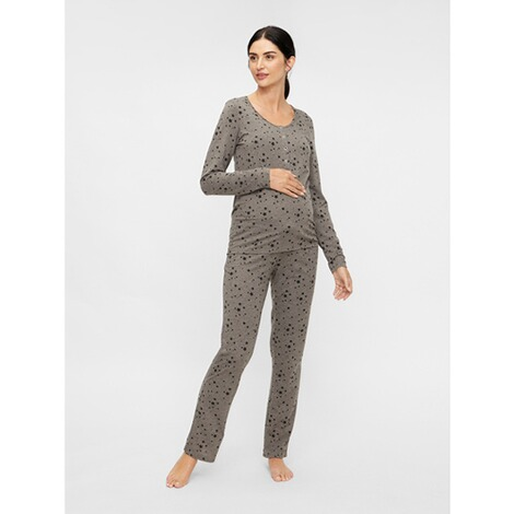 MAMALICIOUS®Umstands- und Still-Pyjama Chill Star Lia aus recyceltem Polyester 2