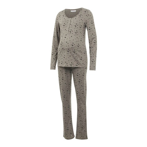 MAMALICIOUS®Umstands- und Still-Pyjama Chill Star Lia aus recyceltem Polyester 1