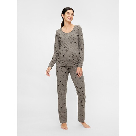 MAMALICIOUS®Umstands- und Still-Pyjama Chill Star Lia aus recyceltem Polyester 3