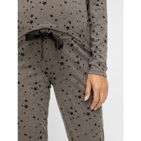 MAMALICIOUS®Umstands- und Still-Pyjama Chill Star Lia aus recyceltem Polyester 6