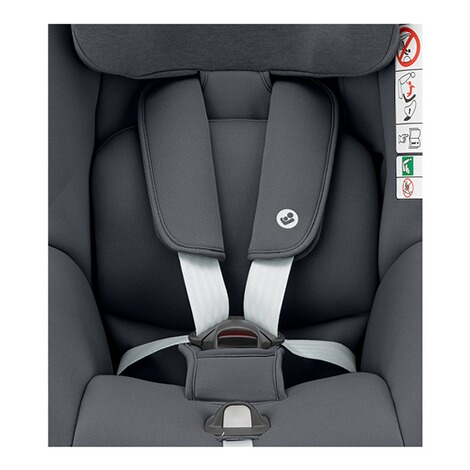 r/ückw/ärts /& vorw/ärtsgerichtetes Fahren m/öglich Gruppe 1 4 Jahre grau 9-18 kg Nomad Grey f/ür ISOFIX-Basis FamilyFix One i-Size Maxi-Cosi Pearl Smart Kindersitz nutzbar ab 6 Monate
