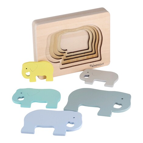 KindsgutTier-Puzzle Elefant 4