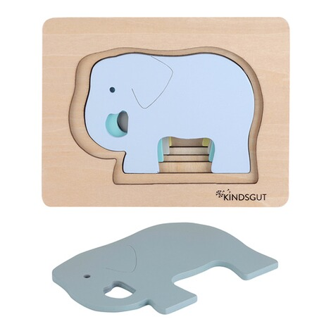 KindsgutTier-Puzzle Elefant 2