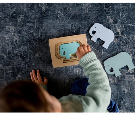 KindsgutTier-Puzzle Elefant 5