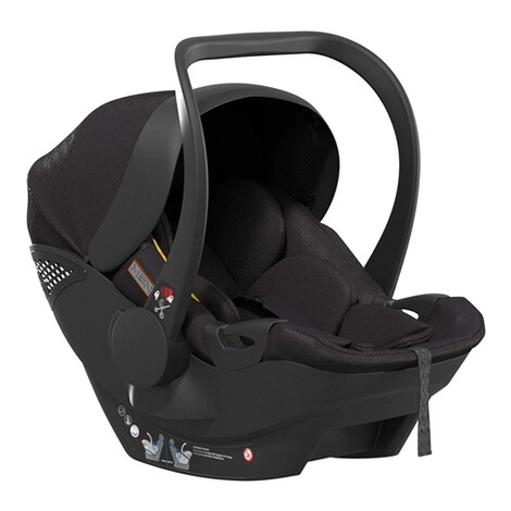 MoonPlus1 i-Size Babyschale  black 1
