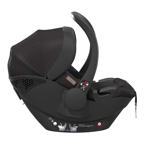 MoonPlus1 i-Size Babyschale  black 3