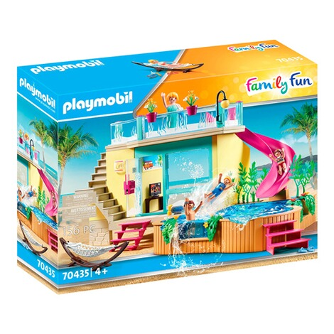 Playmobil®FAMILY FUN70435 Bungalow mit Pool 1