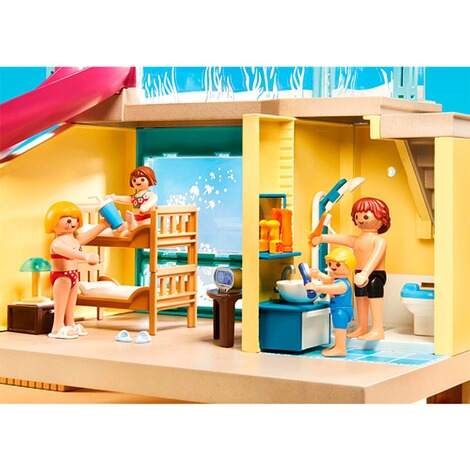 Playmobil®FAMILY FUN70435 Bungalow mit Pool 4