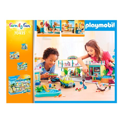 Playmobil®FAMILY FUN70435 Bungalow mit Pool 6