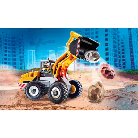 Playmobil®CITY ACTION70445 Radlader 3