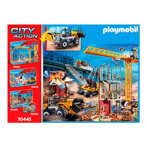 Playmobil®CITY ACTION70445 Radlader 6