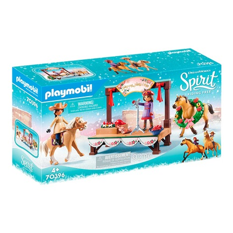Playmobil®SPIRIT RIDING FREE70396 Weihnachtskonzert 1